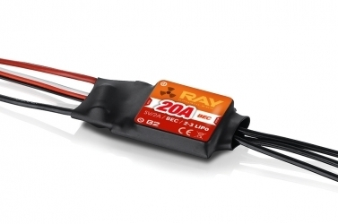 RAY G2 R-20B Brushless Regler 20A mit BEC